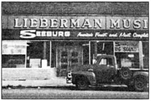 Old Lieberman Music Building