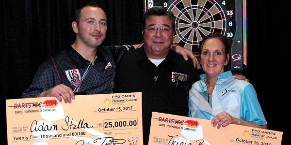 Tricia Romero Winner at Darts TOC