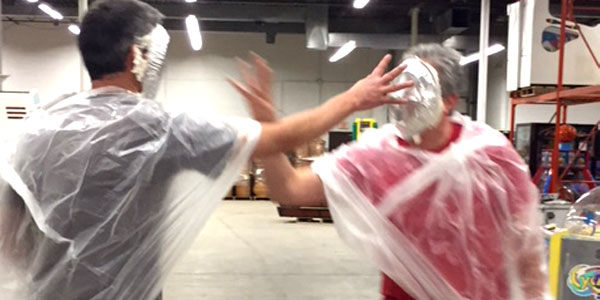 United Way Fundraiser Pie Throw