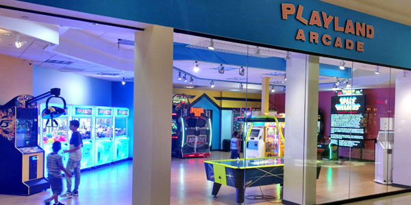 Playland Arcade at Eden Prairie Center